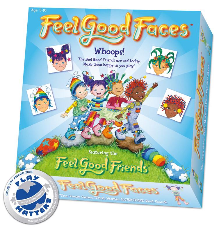 feel good faces game feel good friends. Black Bedroom Furniture Sets. Home Design Ideas
